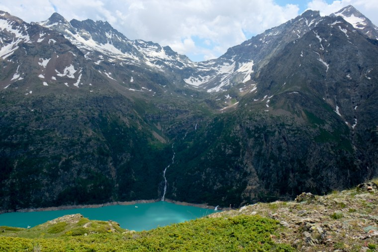Lago di Place-Moulin, Aosta Valley, Italy