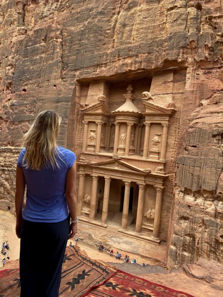 The Treasury at Petra.