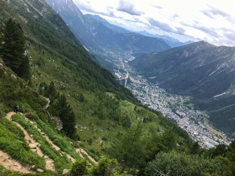 Grand Balcon Nord, Chamonix