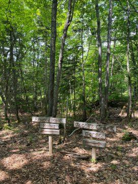Monk Walk Hike, Keweenaw Peninsula, Michigan