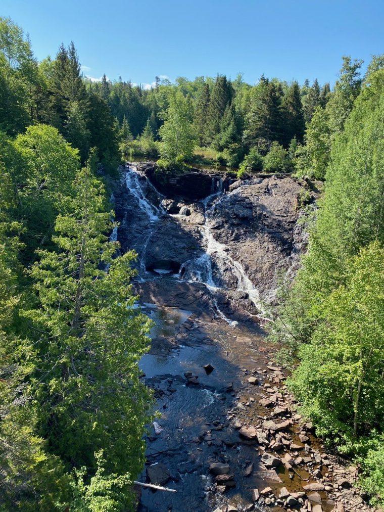 Eagle River Waterfall, Keweenaw Peninsula, Michigan