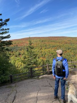 Fall at the Oberg Mountain Trail