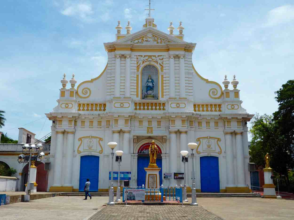 church of immaculate conception pondicherry