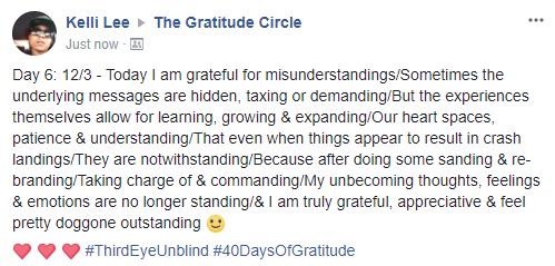 Gratitude 2 Day 06 2017-12-04