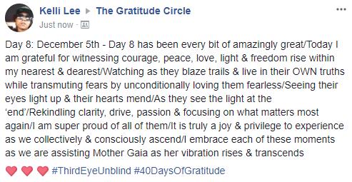 Gratitude 2 Day 08 2017-12-05