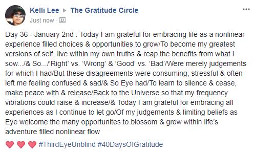 Gratitude 2 Day 36 2018-01-02
