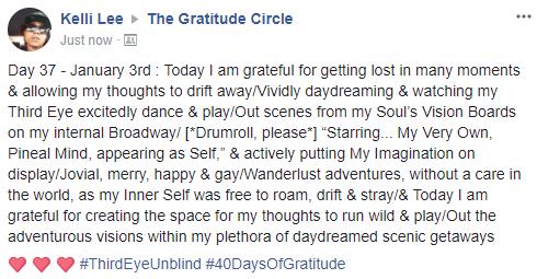 Gratitude 2 Day 37 2018-01-03
