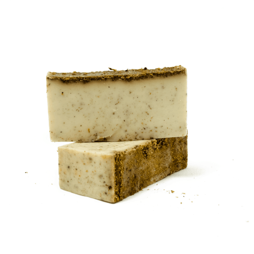 palo santo soap with molido, ground palo santo, by third eye wood