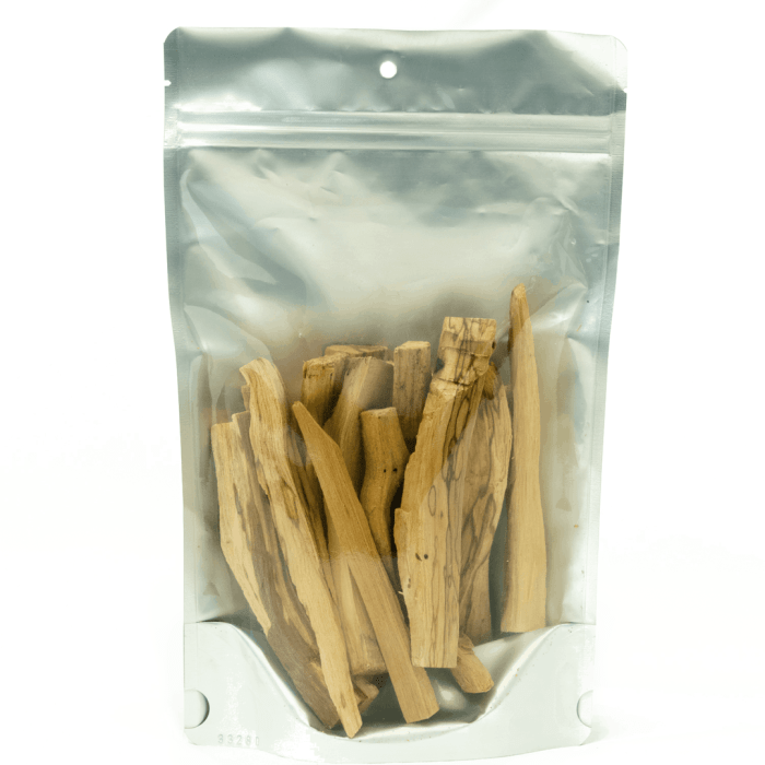 4 oz bag of third eye wood palo santo incense sticks