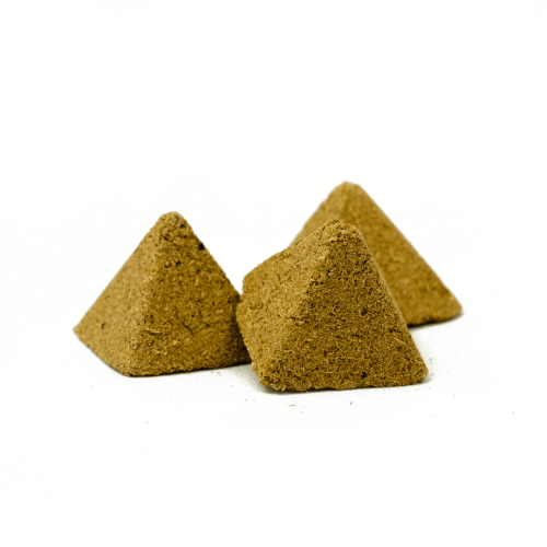 premium handmade palo santo incense pyramids