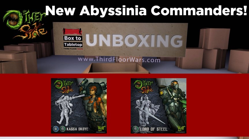 """Wyrd's """"The Other Side"""" Unboxing – Lord of Steel and Kassa Okoye"""