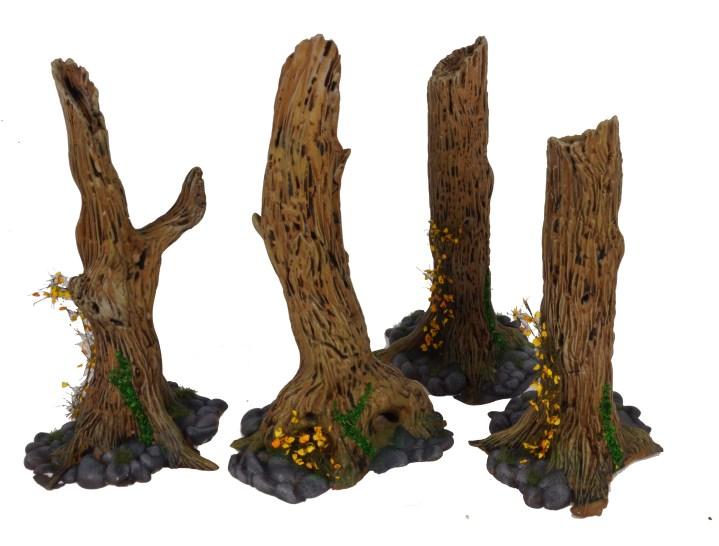 Cursed Forest Terrain Painted! – THIRD FLOOR WARS