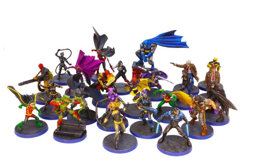 Heroes of Batman Core Box Painted!