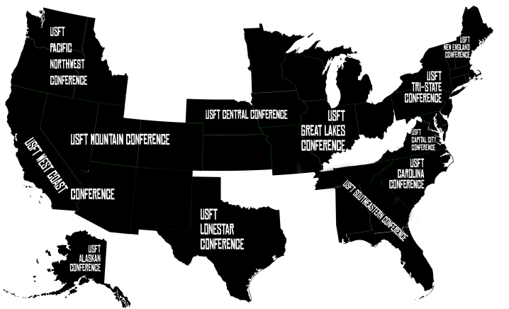 USFT Map - Conferences 2019