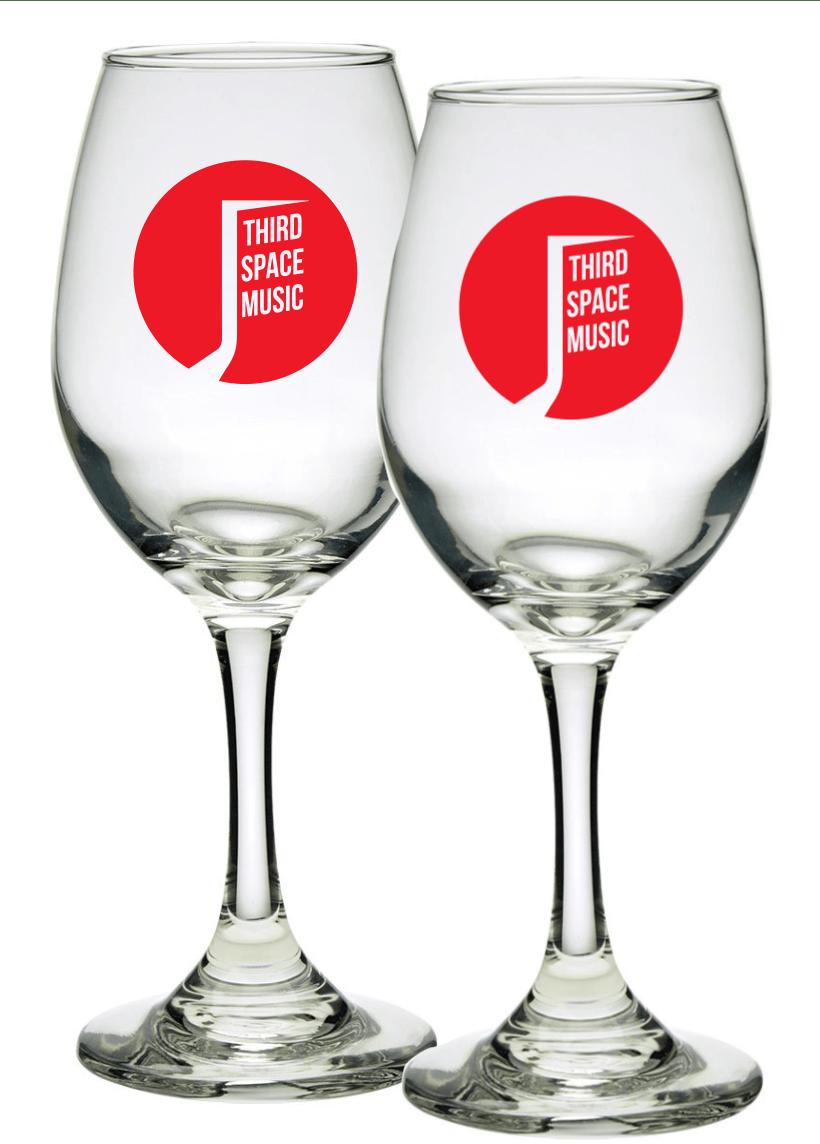 Third Space Music Wine Glasses (2)