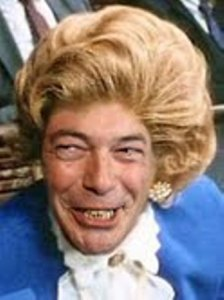 Farage as Thatcher