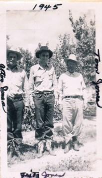 Alton, Fritz, and Tom Jones 1945
