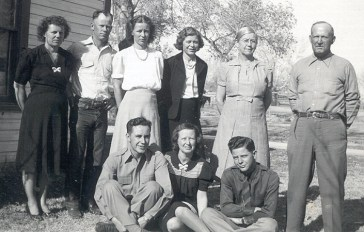 Tom and Mary Jones and family. Name to come.