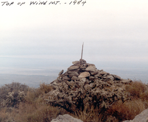 Top of Wind Mountain 1984