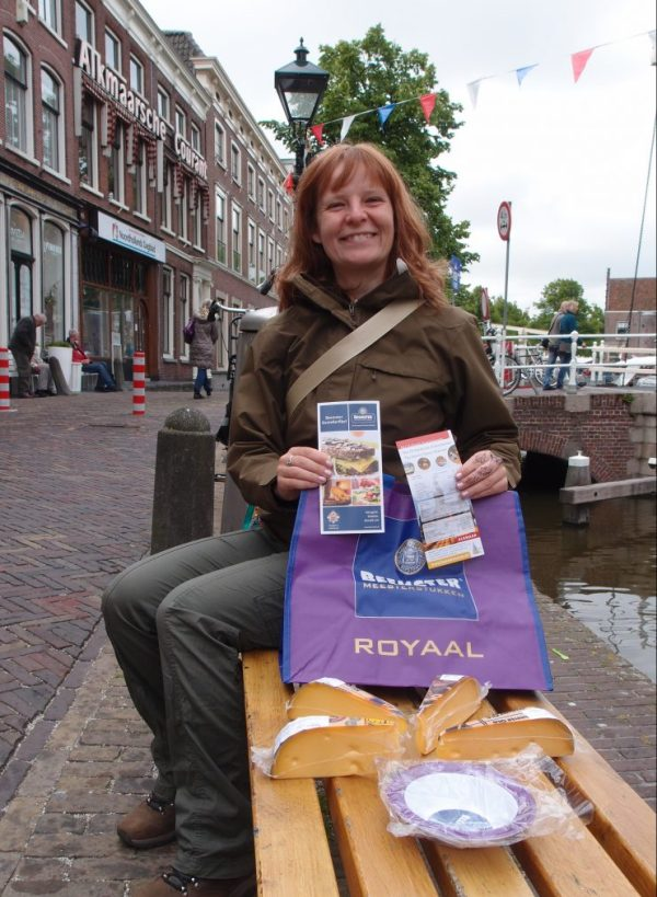 cheese grab bag in Alkmaar