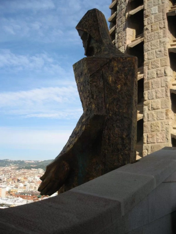 Sagrada Familia sculpture