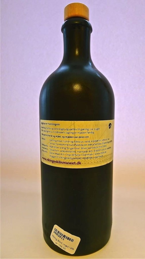 Viking Blod back label