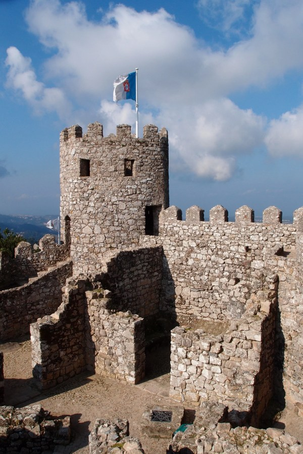 Moorish Castle tower