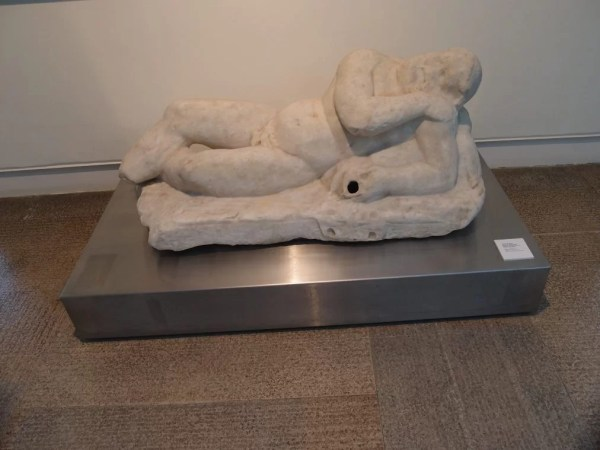 Sculpture of Sleeping Silenus