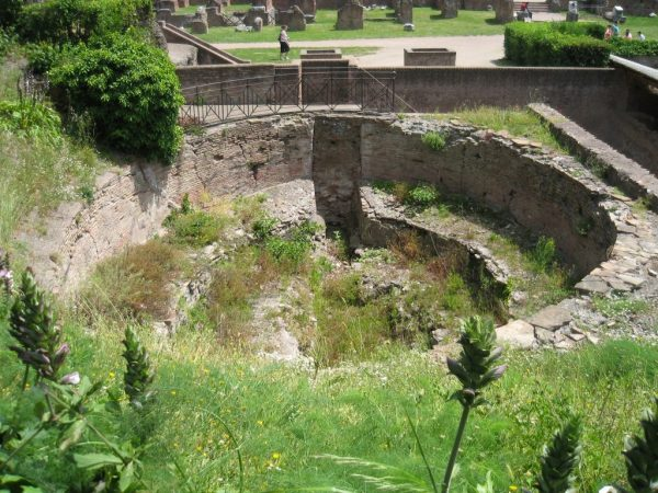 Basin at Domitian's Palace