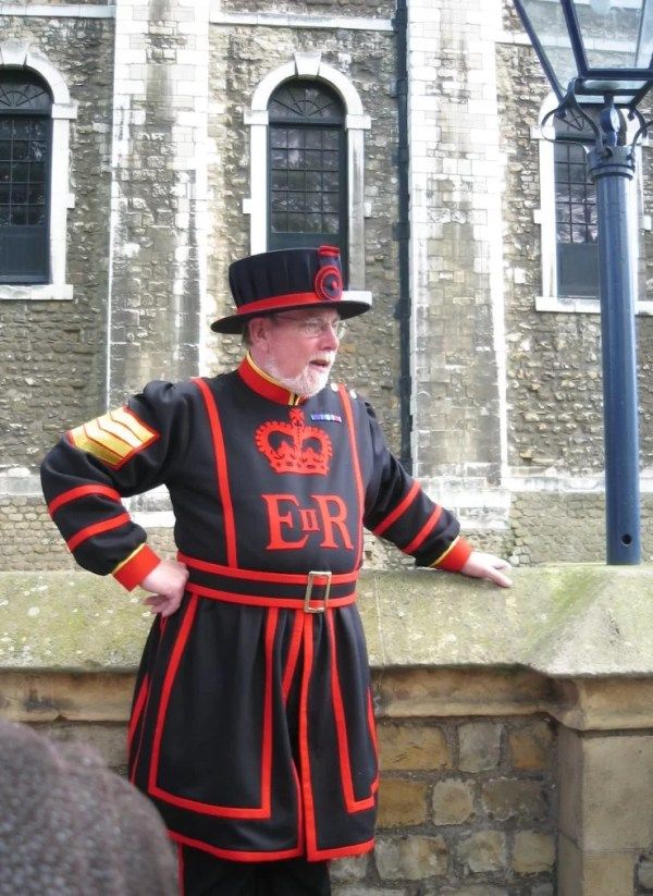 yeoman warder tower of london