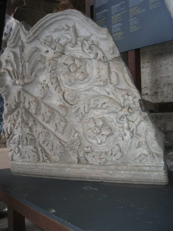 Architectural fragment from Colosseum