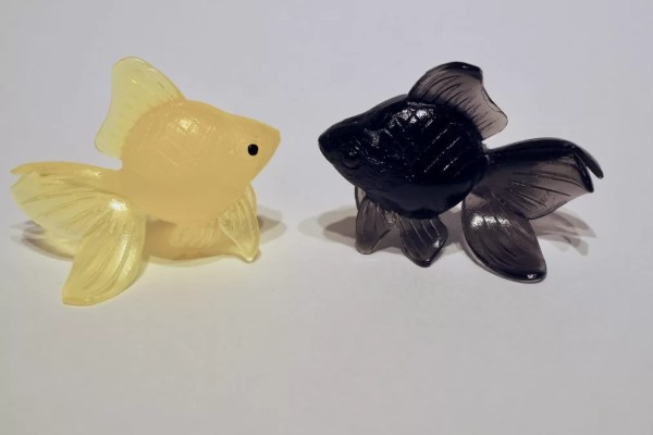 rubber fish gashapon