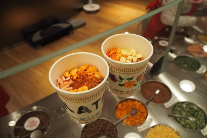 CupNoodles factory cups