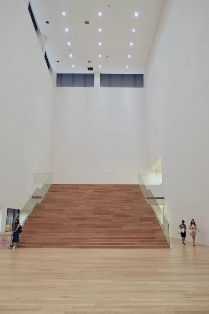 Cup Noodles Museum stairs
