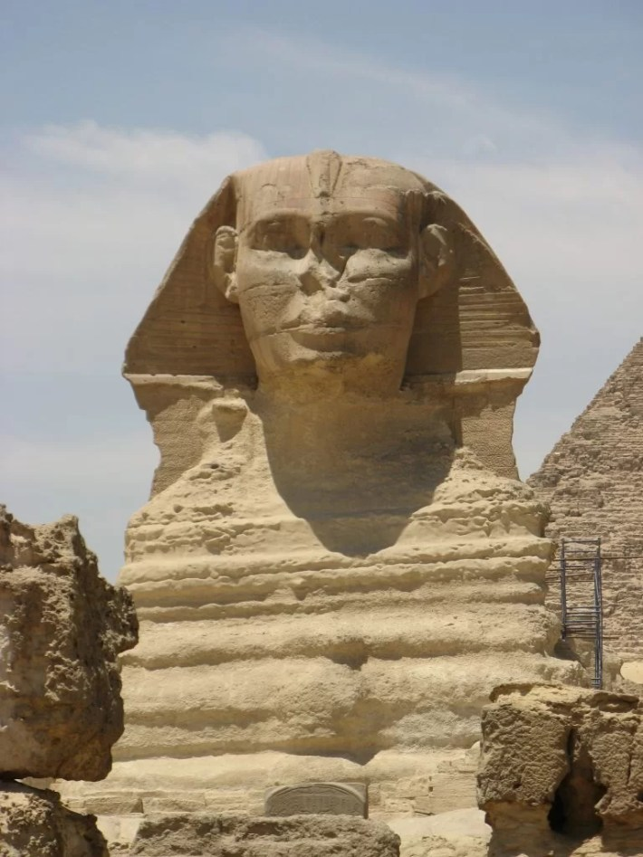 Sphinx close up