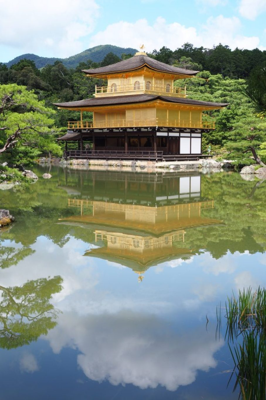 Golden Pavilion Kyoto reflection