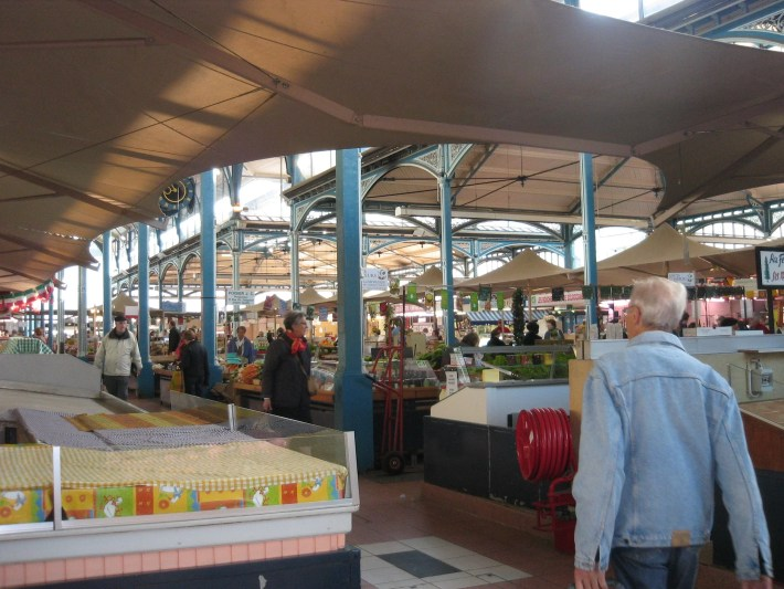 covered market, Dijon France