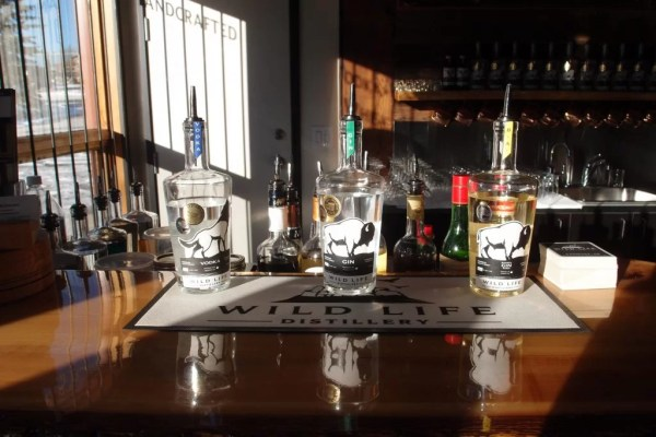 Wild Life Distillery spirits Canmore