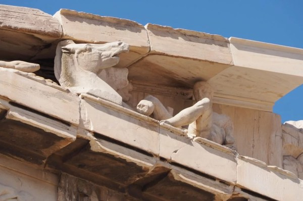 frieze on the Parthenon, Greece