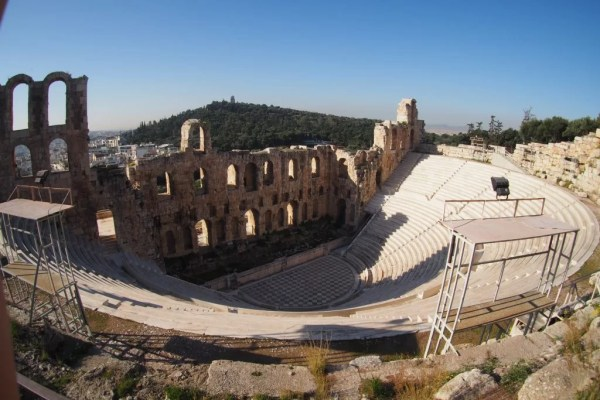 Odeon of Herodes Atticus. Greece