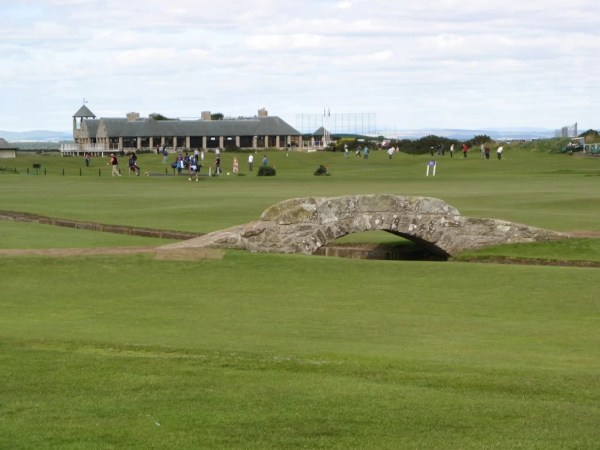 Old Course at St Andrews scotland