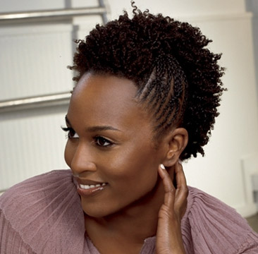 Just a small gallery of natural hairstyles for black women that are creative