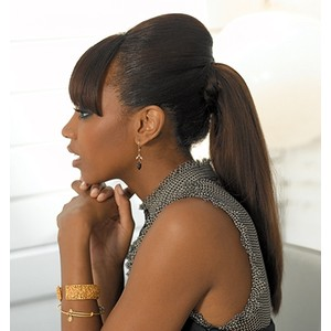 hair weave ponytails