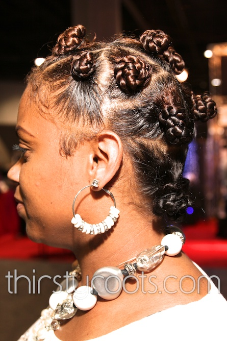Bantu Knots And Highlights