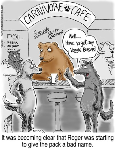 Vegetarian Wolf Gifts