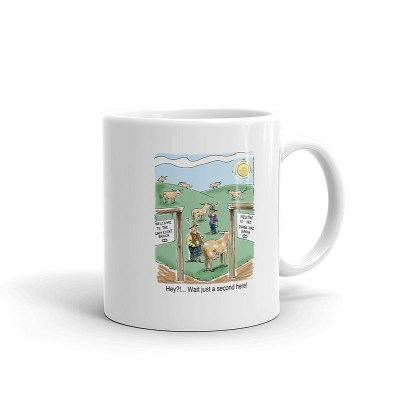 double zero ranch coffee mug 11oz
