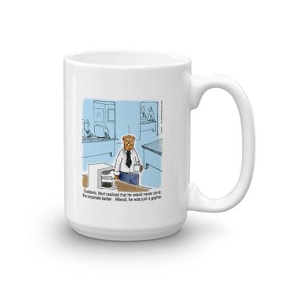 office gopher coffee mug 15oz