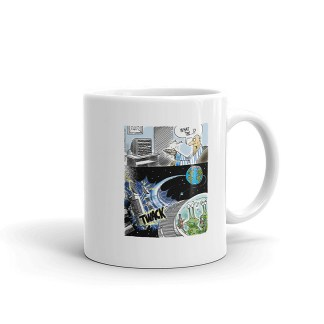alien DUI coffee mug 11oz