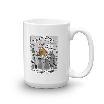 Vegetarian Wolf Coffee Mugs