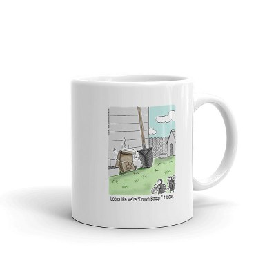 brown bagging it today coffee mug 11oz